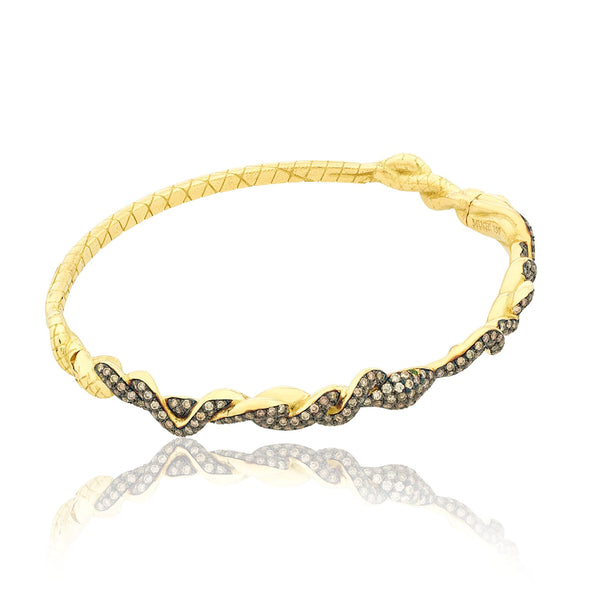 Serpentine Bangle