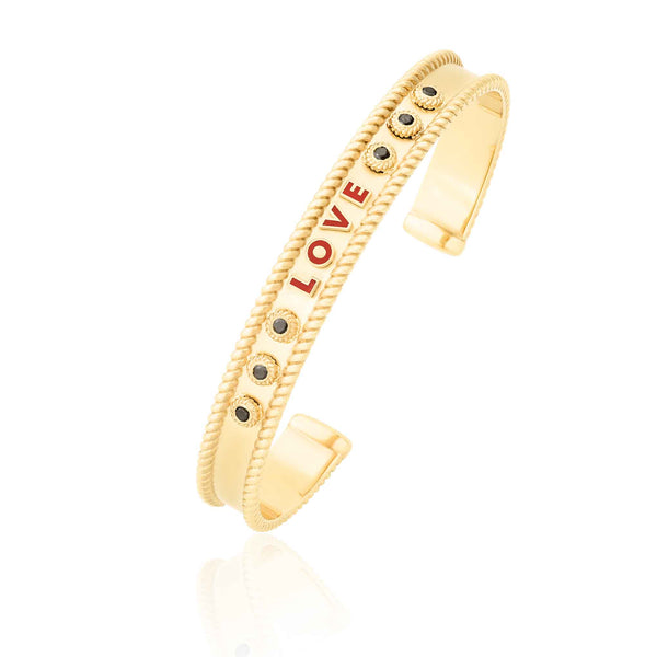LOVE SUPERHERO BANGLE