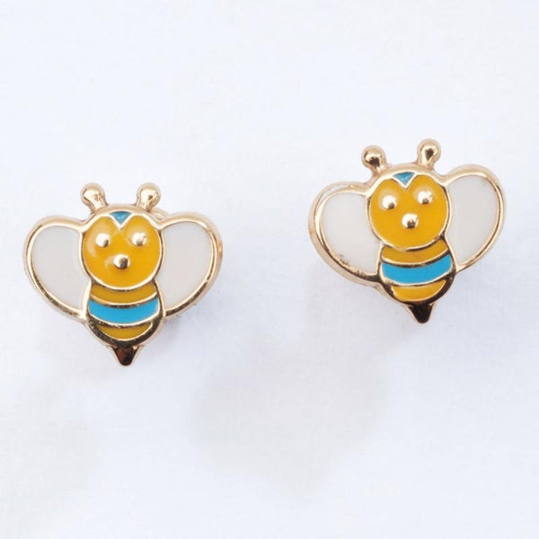 Baby Queen Bee earrings
