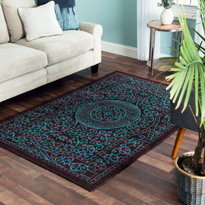 "Linden Home Reversible Area Rug ""Mallory"""