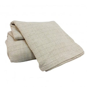 "Marc Thee Cotton Blankets & Throws  ""Chalk Stripe"""