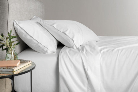 Leigh 700 Thread Count Cotton Rich Sateen Weave Sheet Sets from the  Linden Home Collection