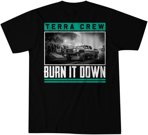 BURN IT DOWN - BLACK