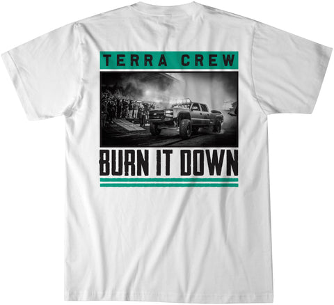 BURN IT DOWN - WHITE
