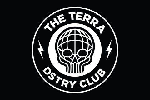 TERRA DSTRY CLUB WALL BANNER