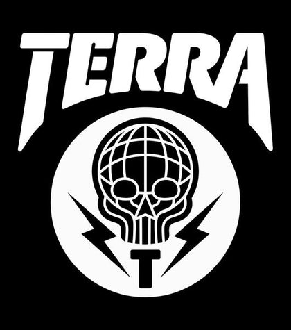 TERRA - VINYL DECAL STICKER - 8x8 - 2 COLOR OPTIONS