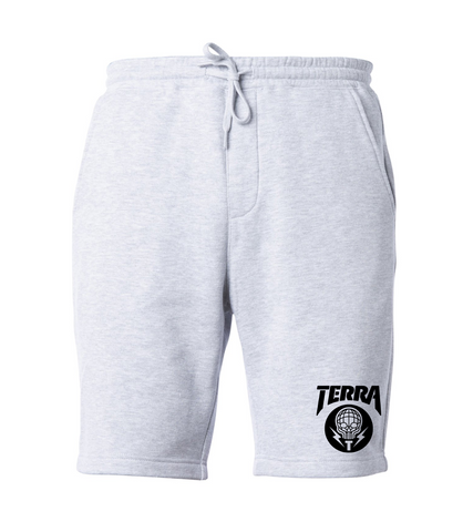 ICON SWEAT SHORTS - GREY