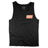 RACE FLAG - BLACK TANK