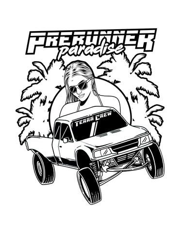 COLORING PAGE - PRERUNNER PARADISE