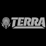 TERRA - SMALL VINYL DECAL STICKER - 3X12 - 4 COLOR OPTIONS
