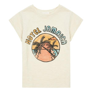Hundred Pieces Hotel Jamaica Organic Tshirt Mastic