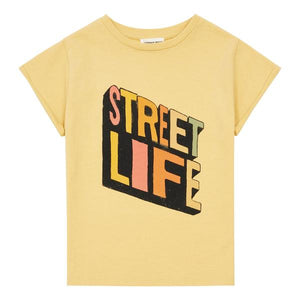 Hundred Pieces Streetlife Organic Tshirt Sunflower Yellow