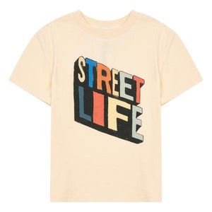 Hundred Pieces Streetlife Organic Tshirt Melon