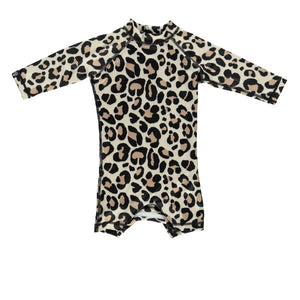 Beach and Bandits Leopard shark baby suit