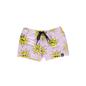 Beach and Bandits Sunny Flower swimshort