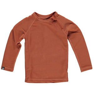 Beach and Bandits Earth Ribbed Long Sleeve