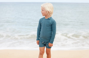 Beach and Bandits Ocean Ribbed Long Sleeve
