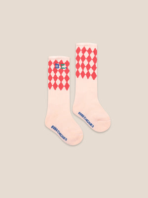 Bobo Choses Diamond Long Socks