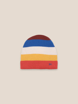 Bobo Choses Multicolor Stripes Beanie