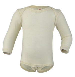 Engel Natur Baby Body Longsleeve Naturel