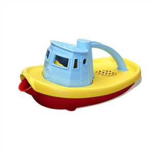 Green Toys Tugboat Blue