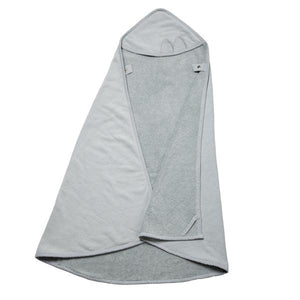 Fabelab Hooded Towel - Cat (Foggy Blue)