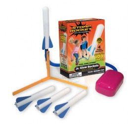Stomp Rocket: JR. GLOW, 4 raketten