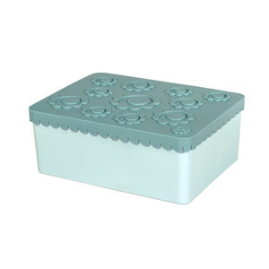 Blafre Lunchbox Flower blue
