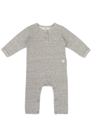 Dusq Baby suit/ Double Face Jersey/ Grey Melange