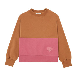Hundred Pieces Crush Embroidered Organic cotton Sweatshirt