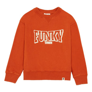 Hundred Pieces Funky Town Organic Cotton Sweatshirt