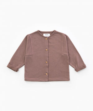 Play Up Jersey Cardigan Purplewood