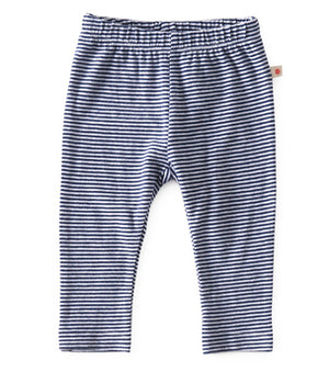 Little Label broekje navy stripe