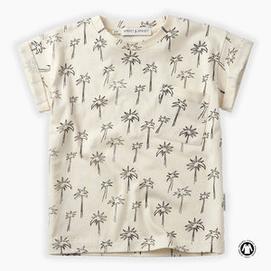 Sproet Sprout T-shirt print Palm Tree (S20-320)