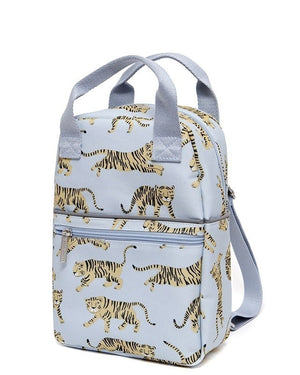 Petit Monkey Backpack tigers grey S