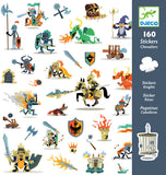 Djeco paper stickers Knights