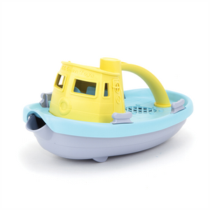 Green Toys Tugboat Yellow top