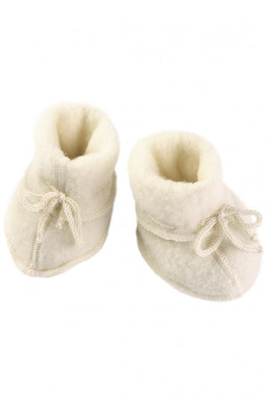 Engel Natur Baby Booties Naturel