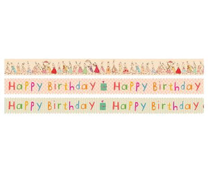 Maileg 3 rollen masking tape happy birthday
