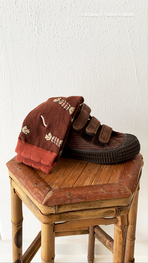 Novesta S.M.KID VELCRO 42 Mono Brown