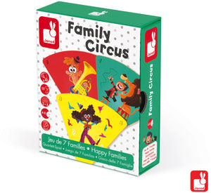 Janod Spel Happy family circus