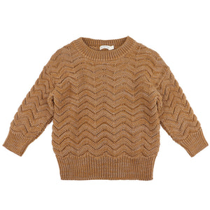 Phil & Phae knit antique Brass