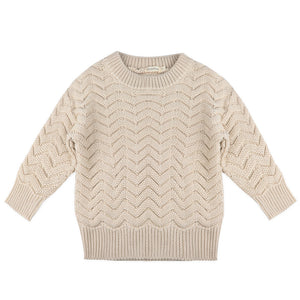 Phil & Phae knit oatmeal
