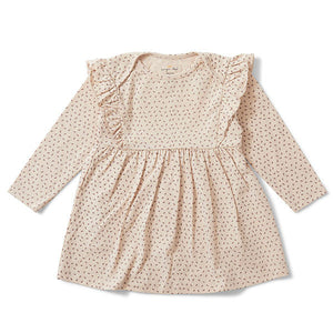 Konges Slojd Hygsoft Dress tiny clover rose