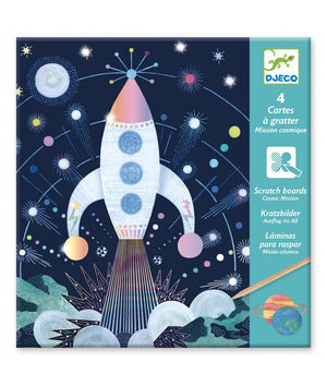 Djeco Scratch cards Cosmos