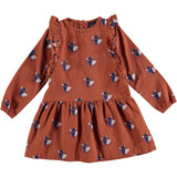Bonmot Dress Frilles World Lovers, Rust