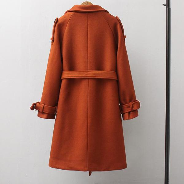 Leisure belted trench
