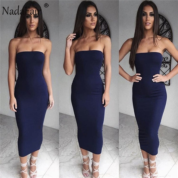 Just the basics midi dress