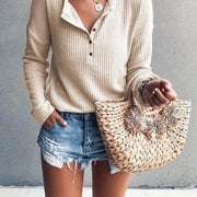 Casual knit top