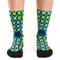 Calcetines ciclismo Ridefyl green stars